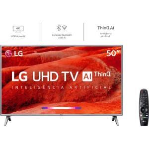 (R$1.562 com AME)Smart TV Led 50'' LG 50UM7500 4k /Controle Smart Magic!