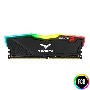 MEMORIA TEAM GROUP T-FORCE DELTA 8GB (1X8) 3000MHZ DDR4 RGB PRETA, TF3D48G3000HC16C01