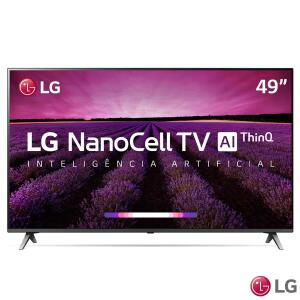 (R$1.655 com AME) Smart TV LED LG 49'' 49SM8000 Ultra HD 4K   R$2069