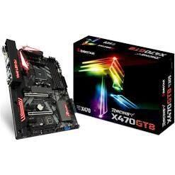 Placa Mãe Biostar Racing X470GT8, Chipset X470, AMD AM4, ATX, DDR4