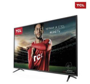 "[APP] Smart TV LED 65"" TCL P65US Ultra HD 4K HDR 65P65US | R$2.850"