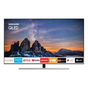 "Smart TV QLED 55"" UHD 4K Samsung 55Q80 - R$4749"