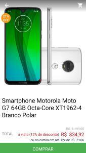 Moto G7 64GB Octa-Core