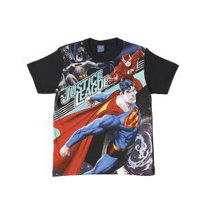 Camiseta Justice League (Infantil - tamanho 8) - R$9