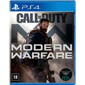 [APP + Cartão Americanas] Jogo Call Of Duty: Modern Warfare - PS4