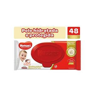 [Frete Prime] Huggies Lenços Umedecidos Supreme Care, 48 toalhas | R$7
