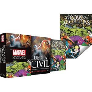 BOX Guerra Civil + Poster Grátis R$19