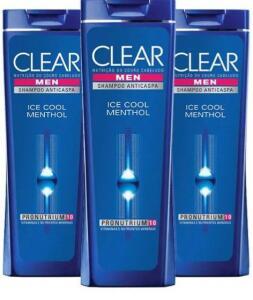 Kit 3 Shampoo Clear pelo Preco de 2, 200ml
