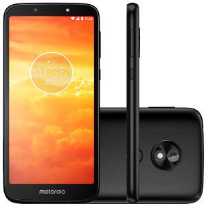 "Smartphone Motorola Moto E5 Play XT1920, 4G Android 8.1 16GB Câmera 8.0MP Tela 5.3"", Preto"