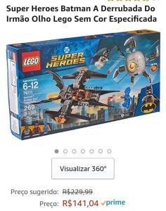 (Prime)Lego super heroes Batman a derrubada do olho cego(269 pcs)