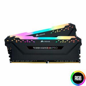 Memoria Corsair Vengeance RGB PRO 32GB (2x16) DDR4 3000MHz Preta