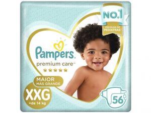 Fralda Pampers Premium Care XXG - 56 unidades 69