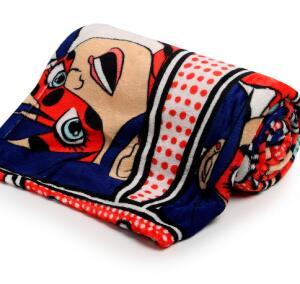 Manta Flannel Infantil Ladybug - R$20