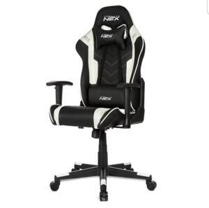 Cadeira gamer DXRacer NEX Preta/Branco | R$800
