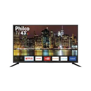 """Smart TV LED 43"""" Philco PTV43G50SN Full HD R$ 1159"""