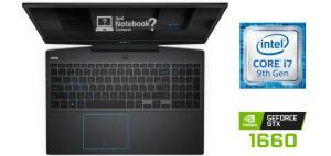 (AME 4,374) Dell G3 - i7-9750h 8 GB GTX 1660 TI Max-Q SSD 128 GB