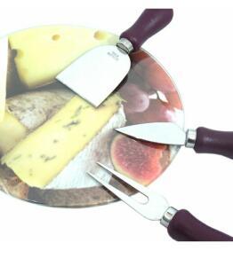 Conjunto para queijo gourmet 4 peças