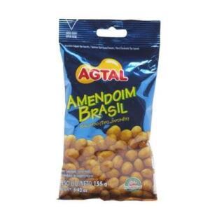 [APP] Amendoim Brasil Tipo Japonês Salgado Agtal Pacote 155 G | R$1