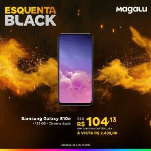 [Loja Física Magazine Luiza] Smartphone Samsung Galaxy S10e   R$2.499