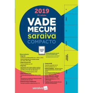 Vade Mecum Saraiva 2019 Compacto - 1° Semestre - 21ª Edição - R$44