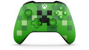 Controle sem Fio Xbox One Edição Especial Minecraft Creeper - R$259