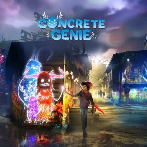 PS4 Concrete Genie - R$80