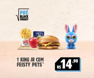 [Pré Black Friday] 1 King Jr com Feisty Pets por R$14,90