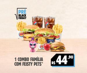 [Pré Black Friday] 1 Combo Família com Feisty Pets