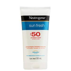 (Frete grátis Prime) Protetor Solar Sun Fresh FPS 50, Neutrogena, 120ml