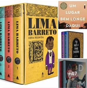 Livros Importados | Na compra de 3 livros o mais barato é grátis