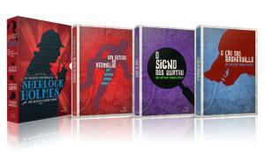 Box - As Grandes Histórias De Sherlock Holmes - 3 Volumes   R$27
