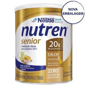 Suplemento Alimentar Nestlé Nutren Senior Sem Sabor 370g R$ 35