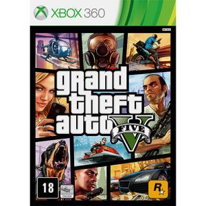 [Retirada em Loja] Game Grand Theft Auto V - Xbox 360 R$50