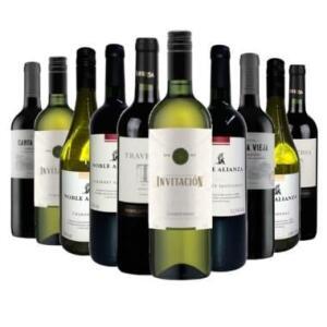 (143 no clube) Kit 10 Vinhos Sulamericanos
