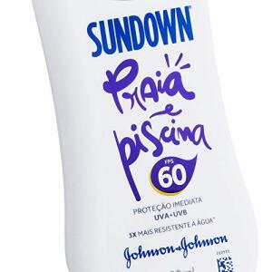(Frete Grátis pra Prime) Protetor Solar Praia e Piscina FPS 60, Sundown, 120ml