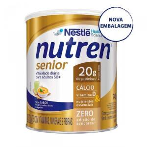 Suplemento Alimentar Nutren Senior Sem Sabor 740g R$ 64
