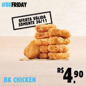 [Black Friday - Terça] 10 BK Chicken por R$4,90