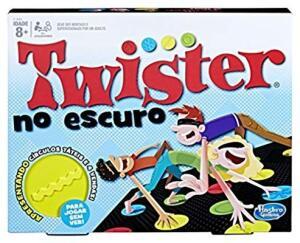 Jogo Twister no Escuro