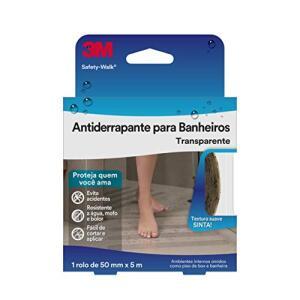 [PRIME] Fita Antiderrapante 3M Safety-Walk para Banheiro - 50 mm x 5 m