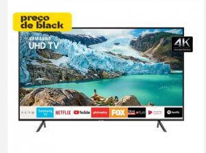 TV 58'' LED Samsung 58RU7100 Ultra HD 4K R$ 2429