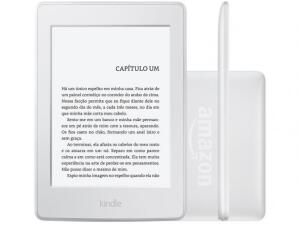 "Kindle 10a Geração Amazon, Branco, 4GB,Wi-Fi, Tela de 6"", B07FPX7SQZ"