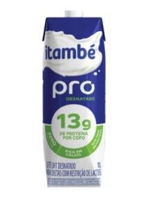 [Rappi Carrefour Brasília] Leite Longa Vida Desnatado sem Lactose Pro 1L R$2
