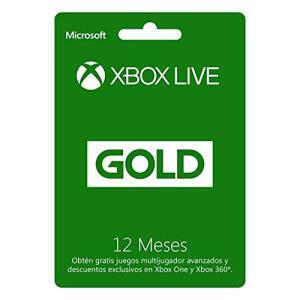Microsoft Xbox live Gold 12 Meses!!!