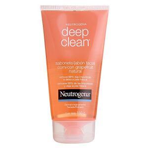 Sabonete Facial Deep Clean Grapefruit, Neutrogena, 150g   R$22