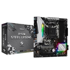 AsRock B450M - Steel Legend | R$ 580