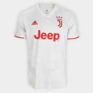 Camisa Juventus Away 19/20 s/nº Torcedor Adidas | R$170