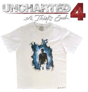 Camiseta Exclusiva Uncharted 4 - Branca
