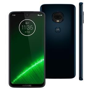 Smartphone Motorola Moto G7 Plus Índigo XT1965 64GB - R$899