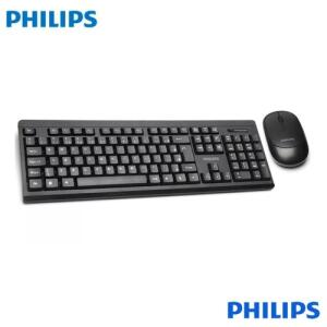 [AME R$ 43,81] Teclado E Mouse S/fio Philips C324 Wireless Convenience | Super Premium