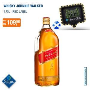 [Sam's Club] Whisky Red Label Johnnie Walker 1,75L